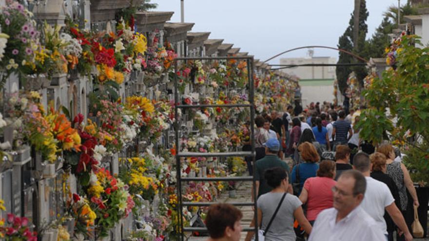Cementerio de San Lázaro, en Las Palmas de Gran Canaria.