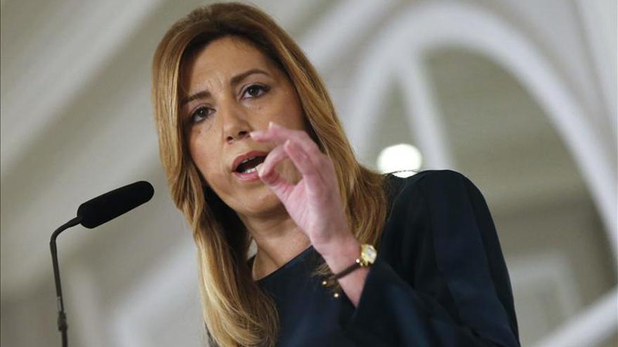 Susana Díaz dice que cualquier persona imputada tendrá que dejar el escaño