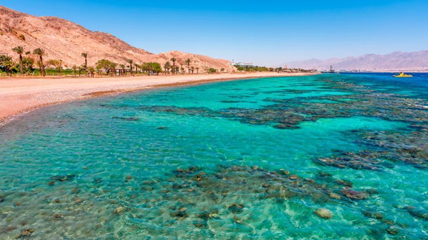 Eilat, a orillas del Mar Rojo, fue fundada en 1949.