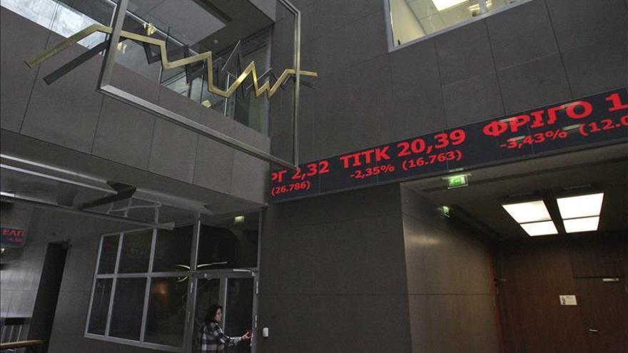 La Bolsa de Atenas acentúa su caída y baja un 3,63 por ciento