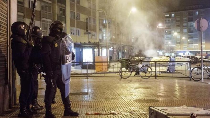 Disturbios en el barrio de Gamonal en el año 2014