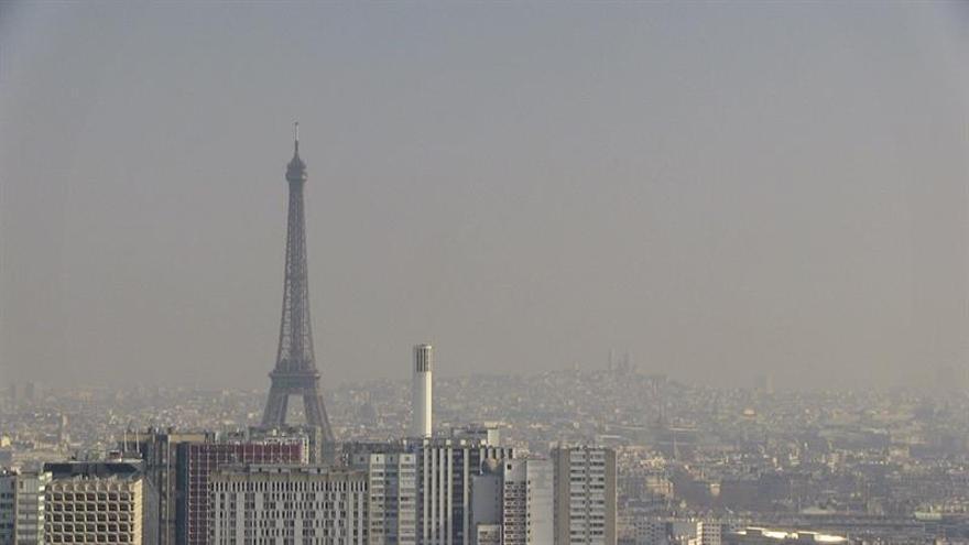 Sólo las matrículas pares circularán mañana en París por la contaminación