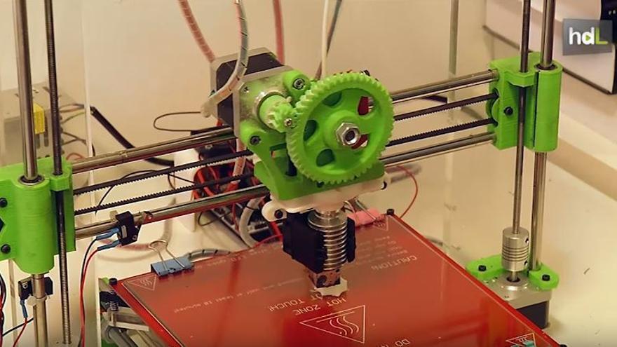 Impresión 3D.