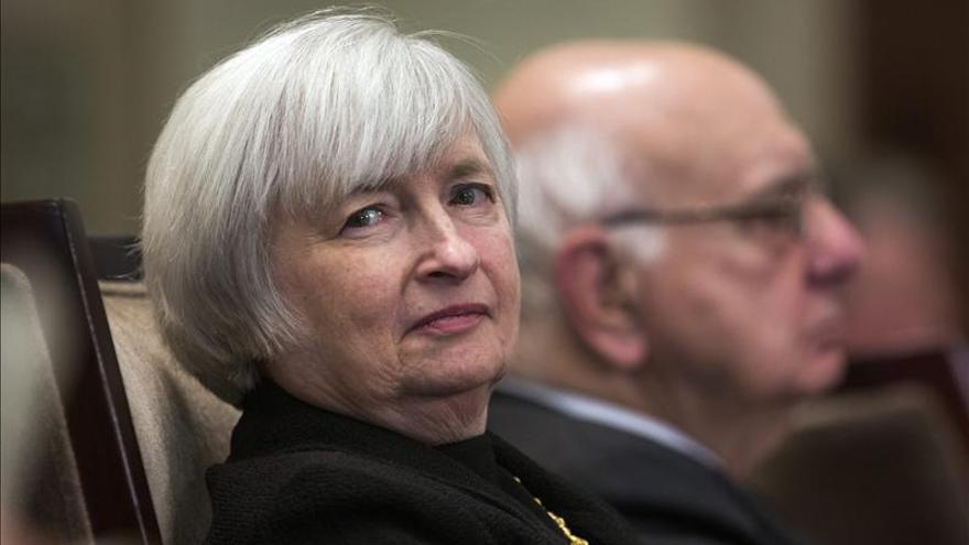 """Yellen se muestra """"esperanzada"""" en una mayor recuperación de EE.UU. en 2014"""