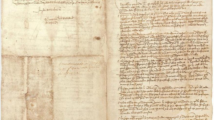 Abalarte saca a subasta cartas manuscritas de Elcano y Malaspina