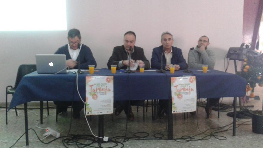 De izquierda a derecha: Pascual Civera, Doménec Nacher, César Roures y Pascual Civera, durante el debate sobre el futuro del sector.