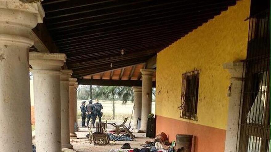 Al menos 43 muertos en un enfrentamiento en el oeste de México