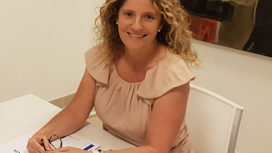 Raquel Díaz, consejera de Empleo del Cabildo de La Palma