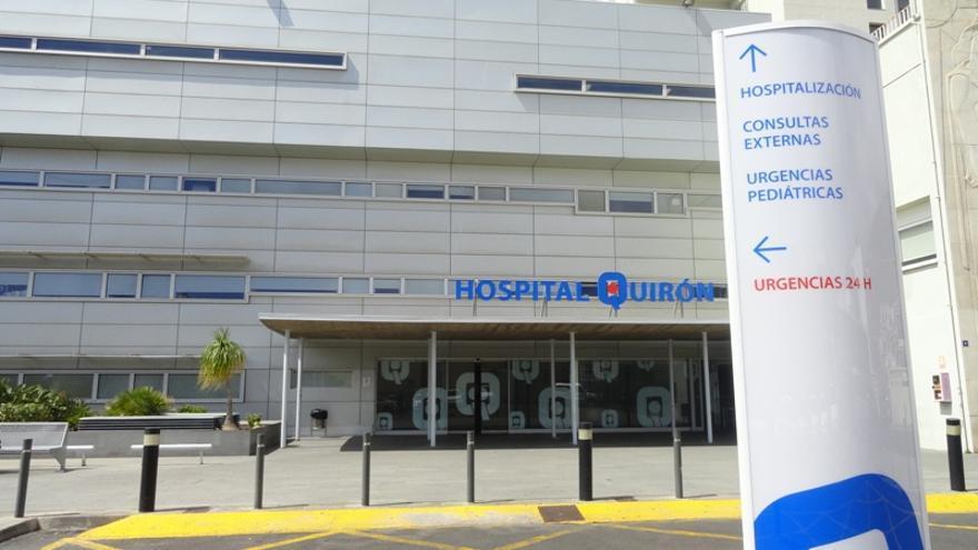 Fachada del Hospital Quirón Tenerife.
