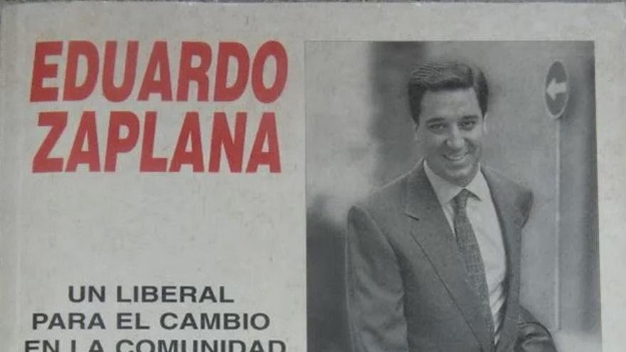 Libro sobre Eduardo Zaplana para asaltar la Generalitat Valenciana publicado en 1995.