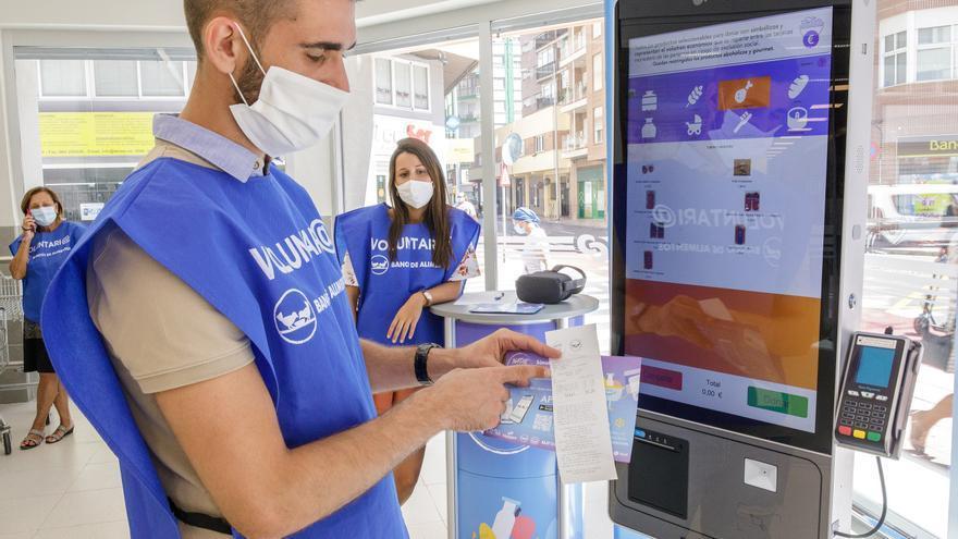 La donación digital de alimentos se extiende de Castelló a otras provincias