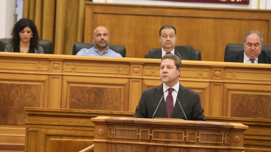 Emiliano García-Page, en el Debate sobre el Estado de la Región