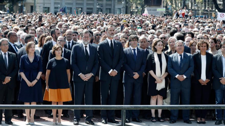 Homenaje a las víctimas en Agosto de 2017. EFE
