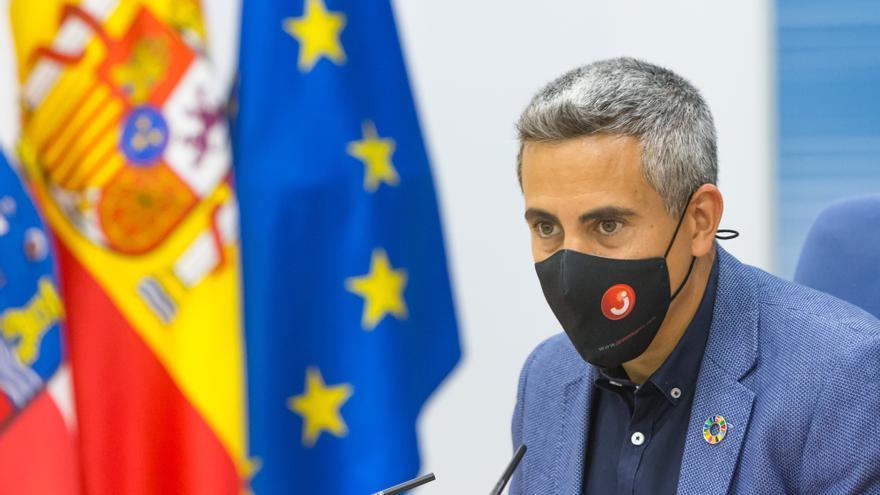 El vicepresidente y consejero de Universidades, Igualdad, Cultura y Deporte, Pablo Zuloaga