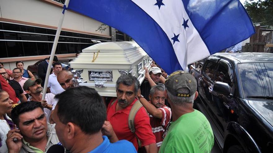 Investigan un daño a la patrulla que protege al nieto de Berta Cáceres en Honduras