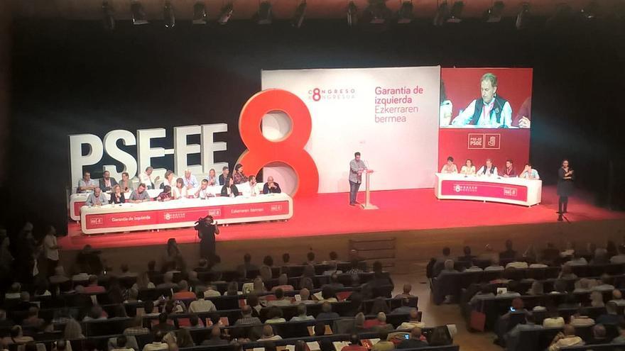 Primera sesión del VIII Congreso del PSE-EE.