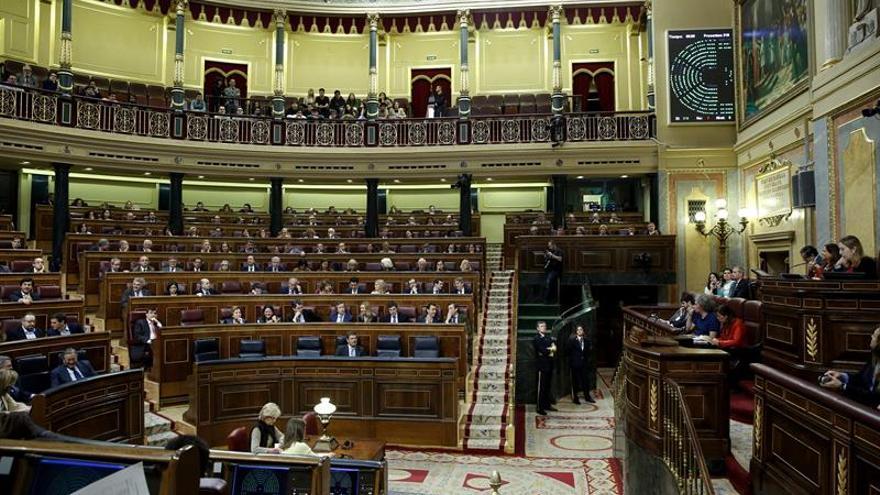 Vista del Congreso de los diputados
