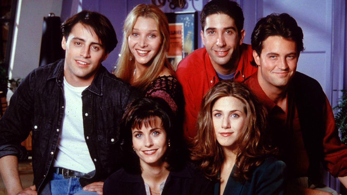 El elenco de 'Friends'