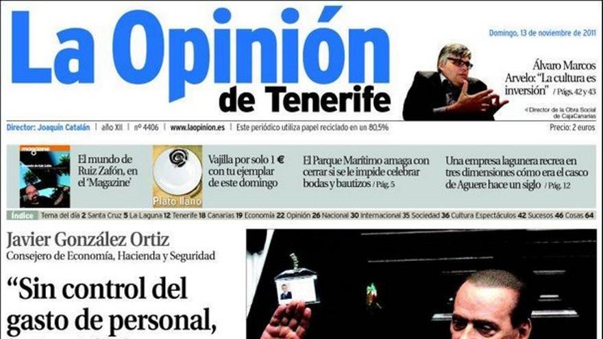 De las portadas del día (13/11/2011) #5