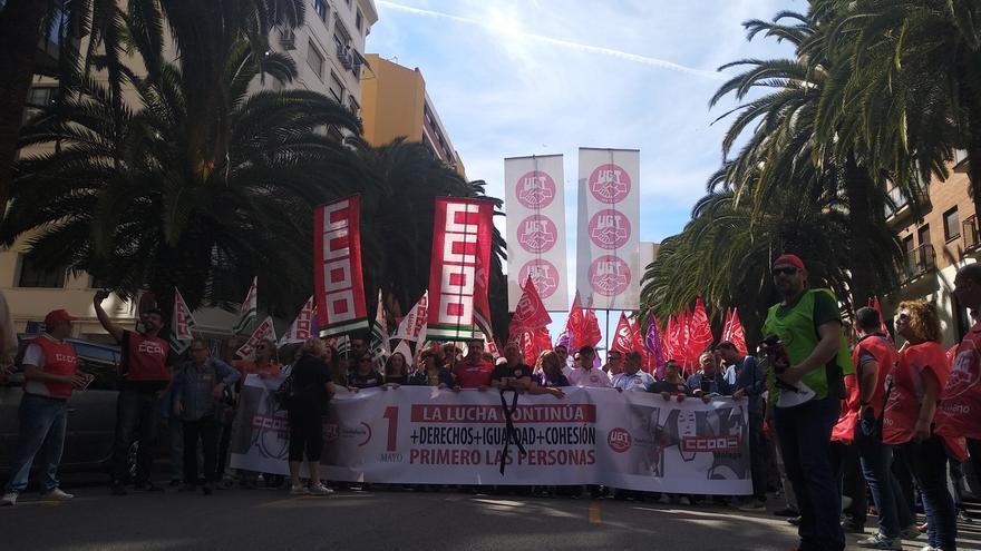 """Málaga sale a la calle este 1 de mayo para pedir """"más derechos, igualdad y cohesión"""""""