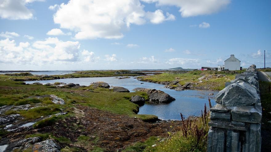 Paisajes desde la Sky Road, una de las atracciones más destacadas del oeste de Irlanda. ilaria