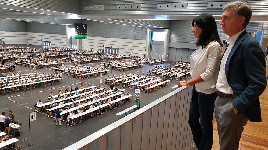 Más de 4.000 personas se examinan este sábado en la primera prueba de la OPE para maestros de Infantil y Primaria
