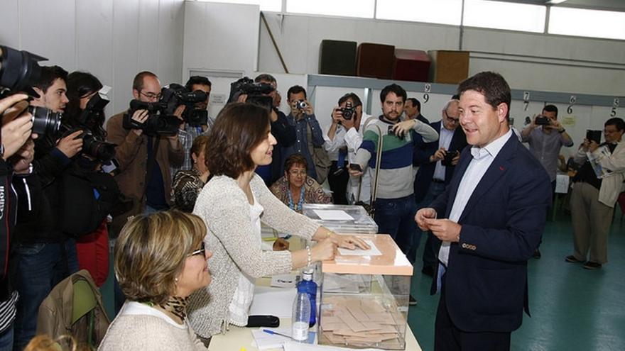 El candidato socialista, Emiliano García-Page / Foto: PSOE