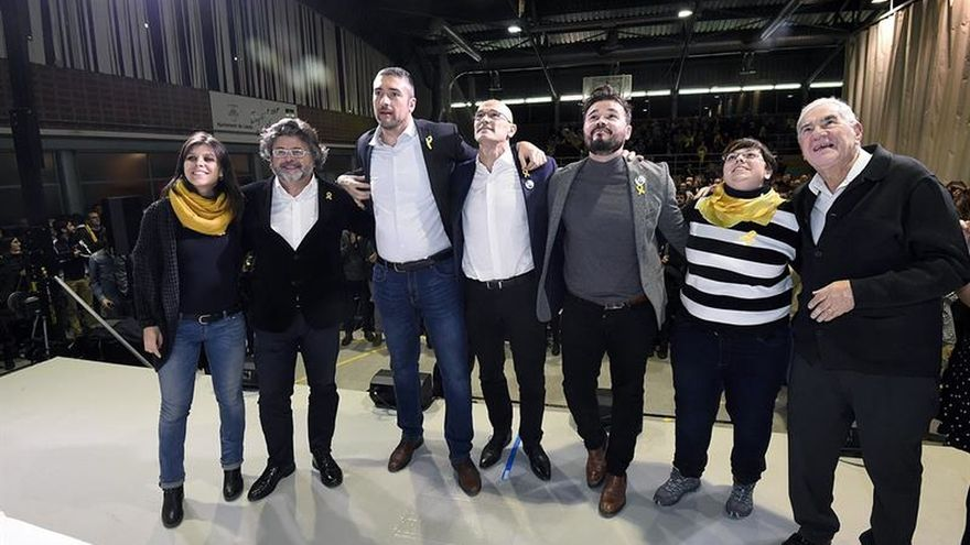 """Romeva (ERC) pide que catalanes no se sometan a """"tiranía del bloque del 155"""""""