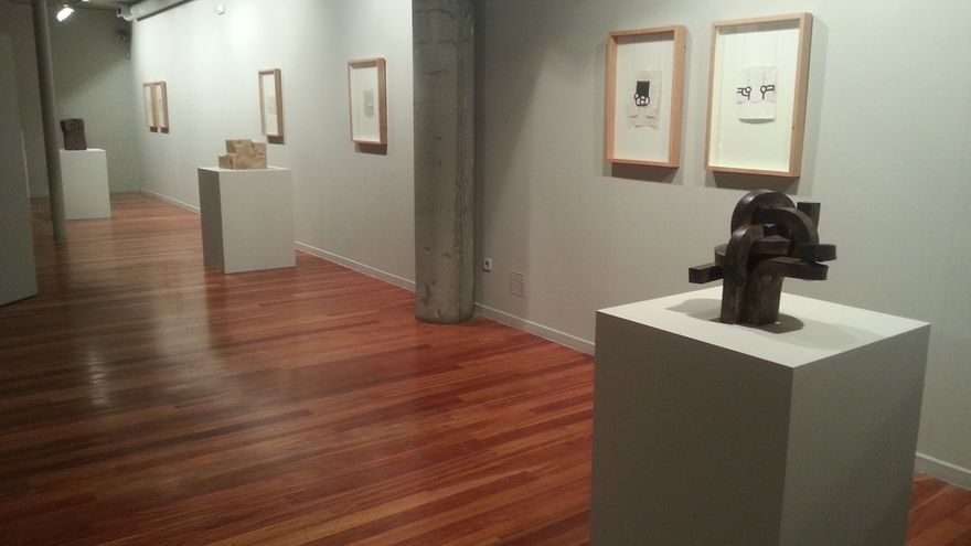 A Coruña acoge hasta febrero la exposición 'Preguntas a Eduardo Chillida' con obras del artista vasco