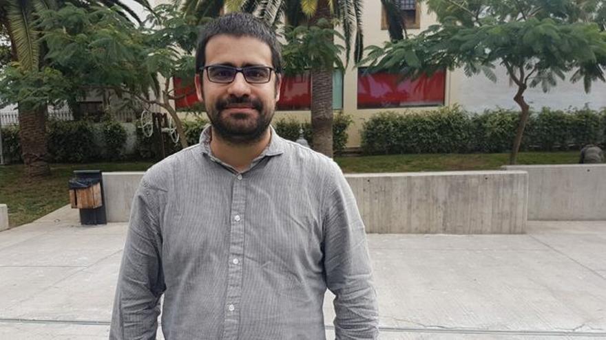Felipe Ramos, portavoz de IUC en el Ayuntamiento de Los Llanos de Aridane.
