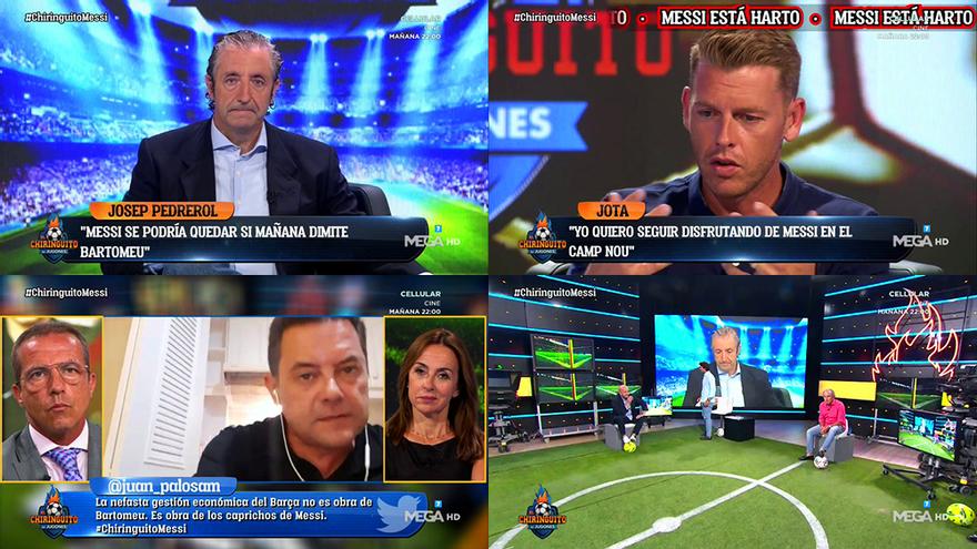 Así fue 'El Chiringuito' sobre Messi por el que Pedrerol suspendió sus vacaciones