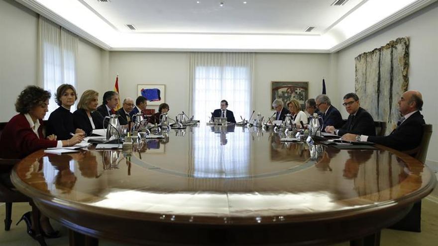 Consejo de Ministros extraordinario. Foto: EFE