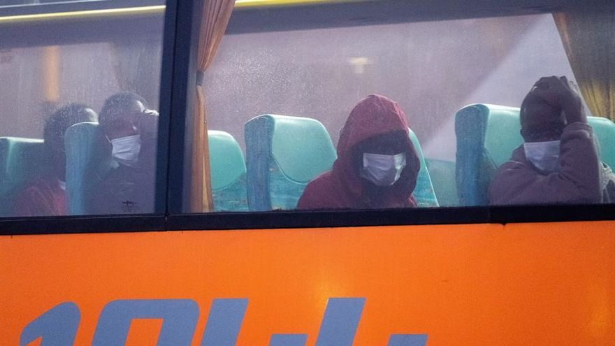 Las dos últimas personas migrantes afectadas por coronavirus en Fuerteventura reciben el alta