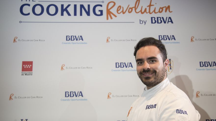 José Martínez, cocinero conquense que ha recibido una beca para formarse en El Celler de Can Roca