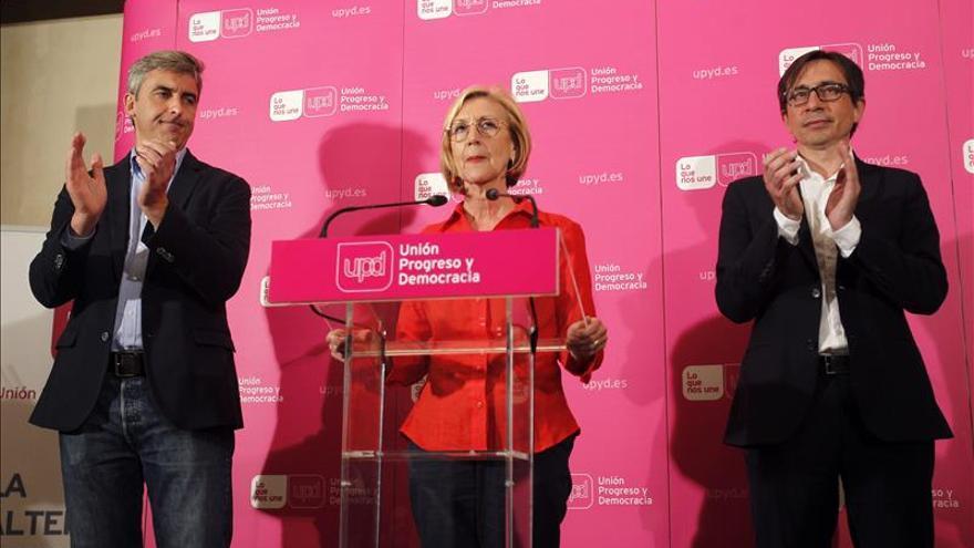 Rosa Díez anuncia que no se presentará al congreso extraordinario de UPyD