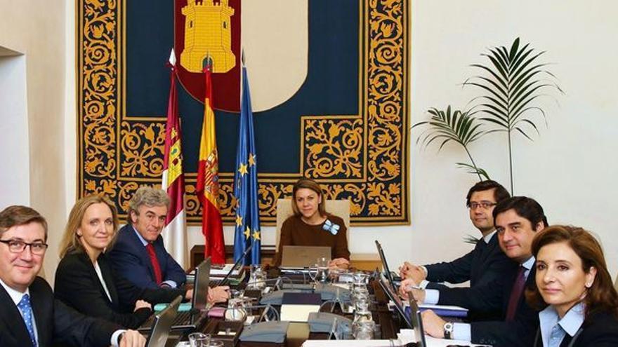 Consejo de Gobierno de la etapa de María Dolores de Cospedal / JCCM