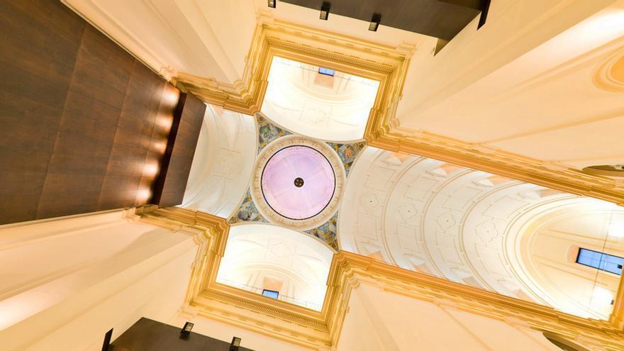 Interior Centro Cultural San Marcos en Toledo, foto por Turismo Castilla-La Mancha
