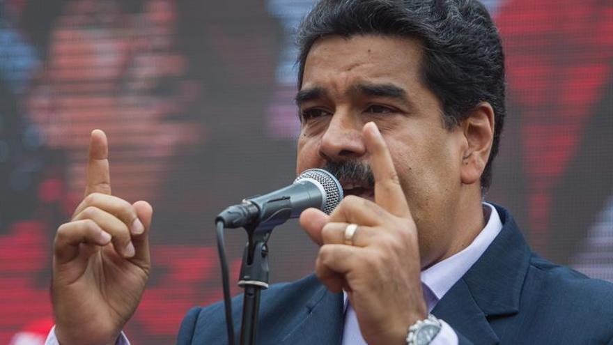 Maduro afirma que la Fuerza Armada venezolana no será sometida por EE.UU.