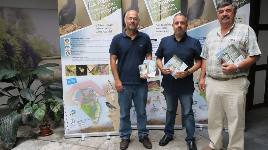 Presentación de la campaña de protección de las aves.