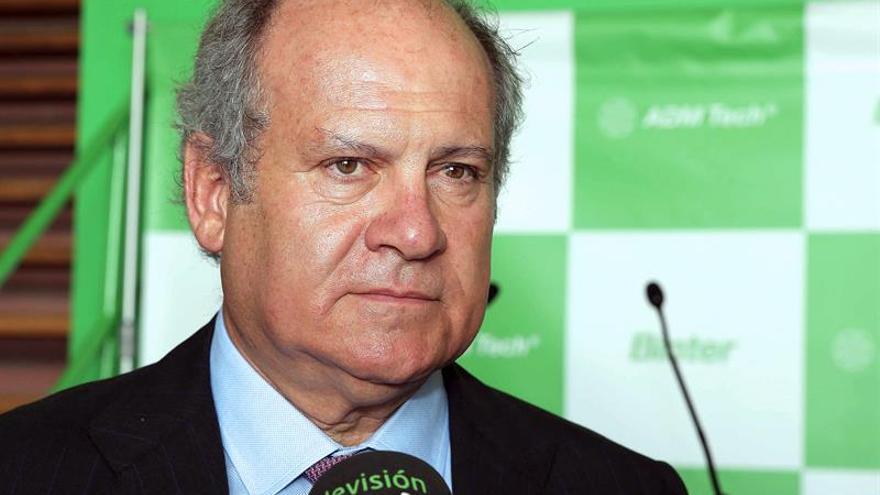 El presidente de la aerolínea Bínter, Pedro Agustín del Castillo. Efe