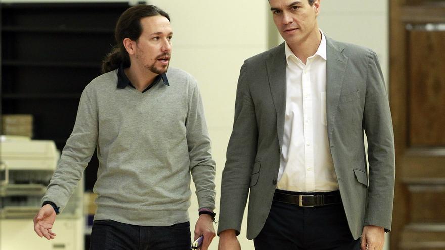 Iglesias rechazará ante Sánchez la abstención de Podemos y volverá a pedir un gobierno de coalición
