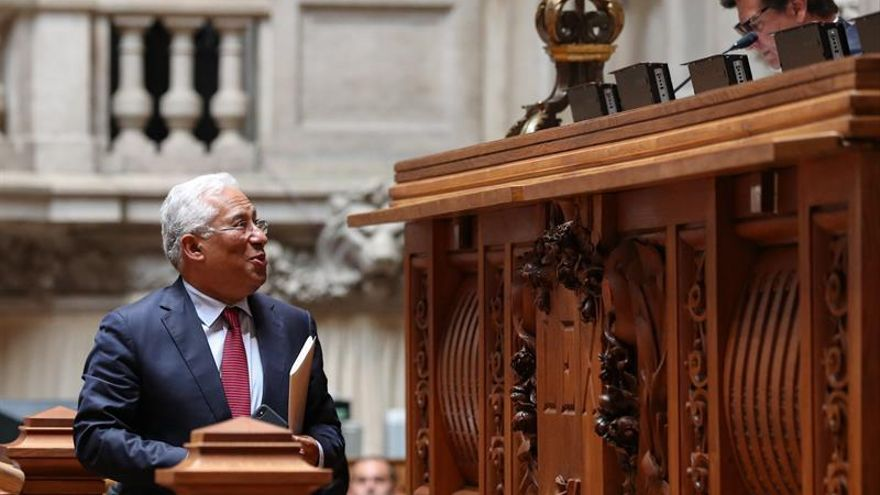 Costa elogia alianza de izquierda en el último debate del estado de la nación
