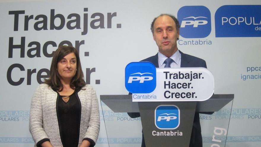 "Diego apela a la ""sensatez"" de los cántabros para evitar ""problemas de ingobernabilidad"""