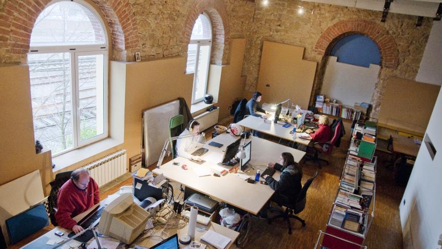 Espacio compartido en coworkingdonostia