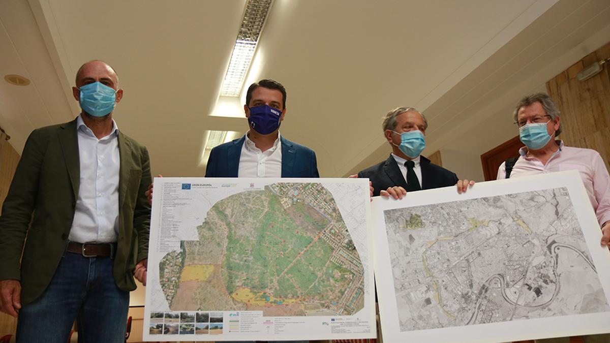 Presentación del proyecto del Parque de El Patriarca.