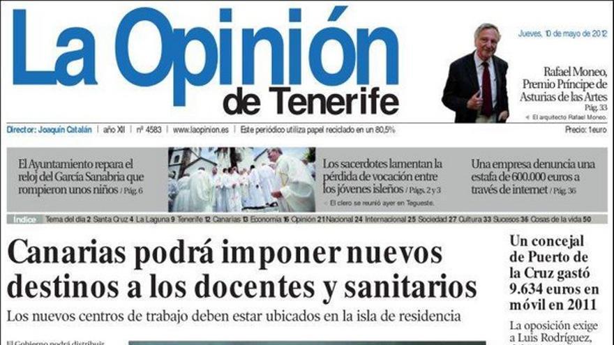De las portadas del día (10/05/2012) #5