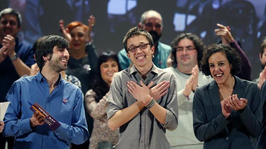 Podemos: Rivera podía debatir con Rajoy y Sánchez porque huele igual de viejo