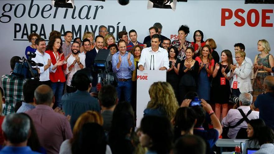 Las sonrisas y las lágrimas del PSOE