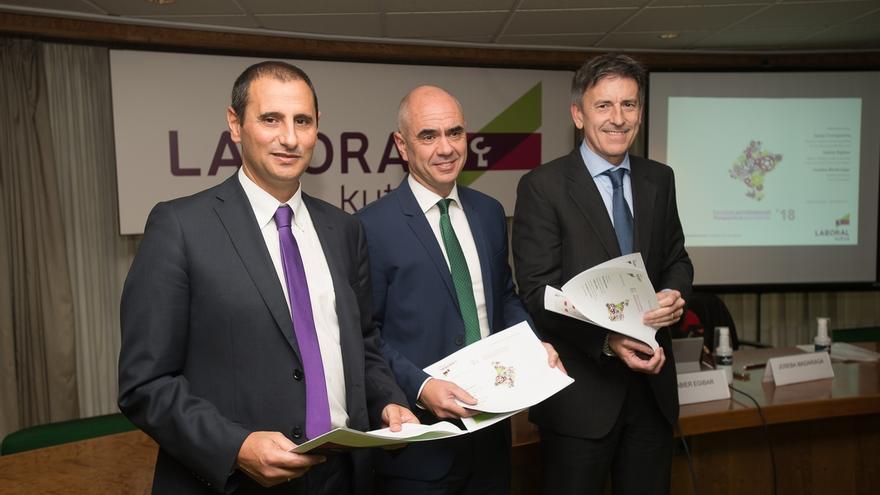 Laboral Kutxa prevé que la economía de Navarra aumente en 2018 un 2,8% y que el paro baje hasta el 9,6%
