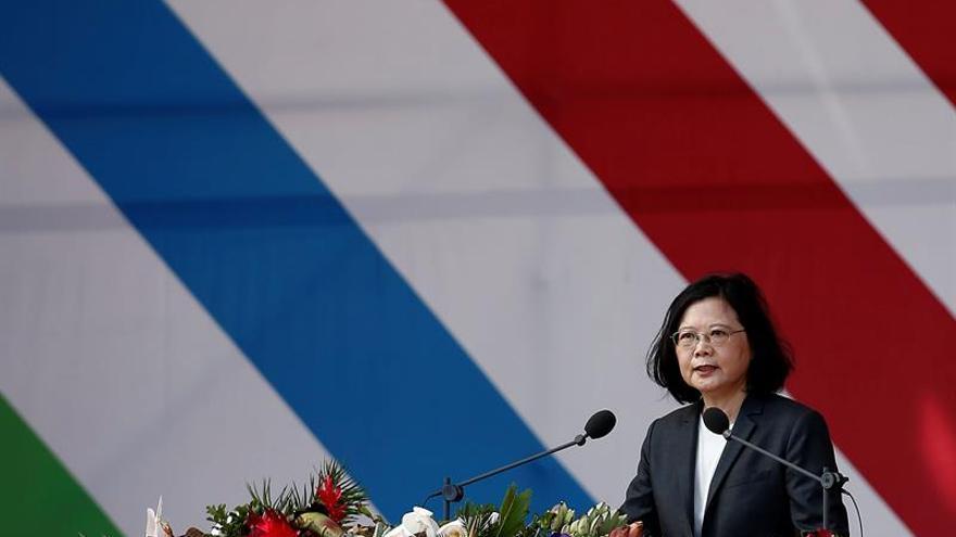 La presidenta taiwanesa inicia un viaje a Latinoamérica con escala en EEUU